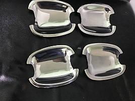 Мильнички под ручки (4 шт, нерж) - Chevrolet Orlando 2010+ гг.