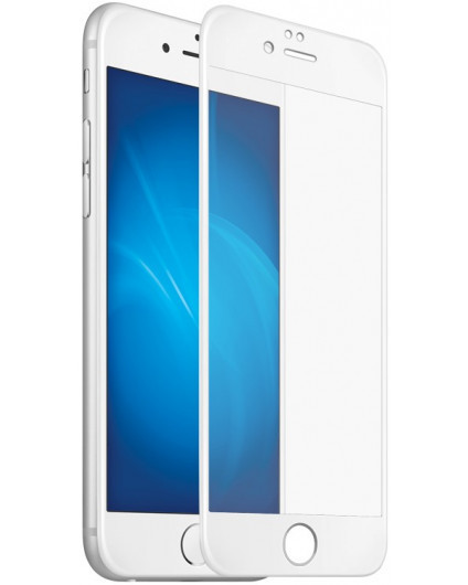 Full Glue защитное стекло для iPhone 6 Plus - White