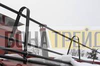 Трубчатое металлические ограждения для крыши