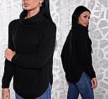 Женский стильный вязаный свитер (6 цветов), фото 6