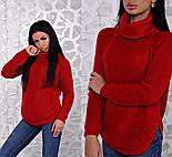 Женский стильный вязаный свитер (6 цветов), фото 10