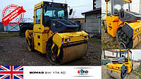 Дорожный каток BOMAG BW 174 AD 2006 года выпуска с наработкой 5658 ждет нового хозяина на складе в Черновцах