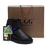 Натуральные женские угги UGG AUS 1978 ( Mini Button Leather), фото 3