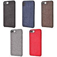 Накладка textile cover для Apple iPhone 7 Plus /8 Plus (5 цветов), фото 1