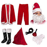 Костюм Деда Мороза с мешком (на взрослого), фото 1