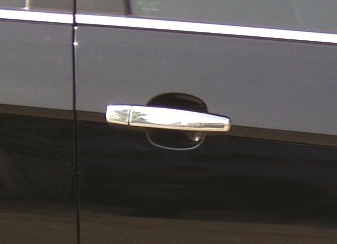 Накладки на ручки (4 шт) - Chevrolet Trax 2012+ гг.