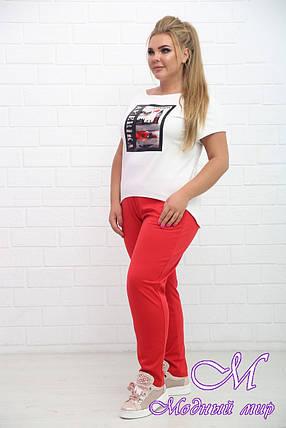 Спортивный женский костюм большие размеры (р. 48-90) арт. Чинос, фото 2