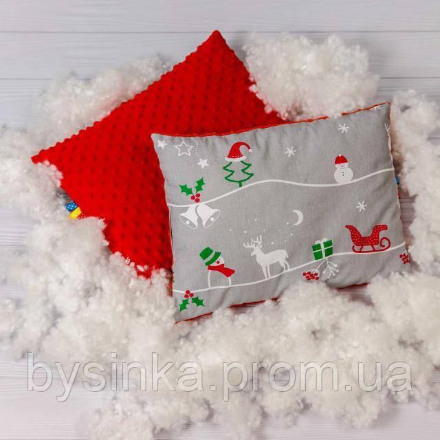 Детская подушка BabySoon Рождественская сказка 30 х 40 см (0548)