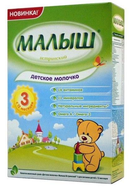 Детское молочко Малыш Истринский (3) 320 г