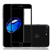 Захисне скло Apple iPhone 7 Plus/iPhone 8 Plus Full 3D Front прозоре (чорне) VMAX