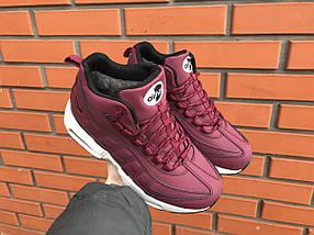 Кроссовки зимние женские в стиле Nike Air Max 95, фото 3
