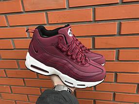 Кроссовки зимние женские в стиле Nike Air Max 95 , фото 3