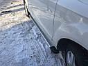 Боковые площадки Maya V2 (2 шт., алюминий) - Chevrolet Trax 2012+ гг., фото 4