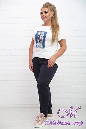 Спортивный женский костюм батальных размеров (р. 48-90) арт. Чинос, фото 2
