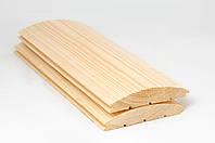 Имитация бревна сосна АВ (Блок-хаус) 35-135-4000мм
