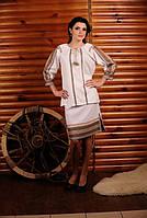 Жіночий костюм з вишивкою Модель:ЖК 2-121