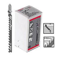 Пилка для лобзика Bosch T 144 D, HCS 100 шт/упак., фото 1