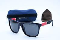 Солнцезащитные очки Grey Wolf черные с красным