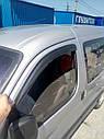 Ветровики DDU-Aomis (2 шт, черные) - Citroen Berlingo 1996-2008 гг., фото 3