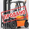 Складской вилочный погрузчик 2 тонны Nissan UD02A202PQ  б/у