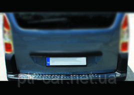 Накладка на задний бампер Omsa Line (нерж.) - Citroen Berlingo 2008-2018 гг.