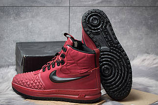 Зимние ботинки Nike LF1 Duckboot 126-4 бордовые, мужские на меху , фото 2