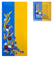 """Металокерамічний дизайн-обігрівач UDEN-S """"Україна"""" (диптих)"""