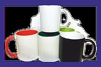 Печать на цветных чашках