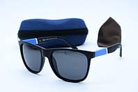 Солнцезащитные очки Grey Wolf черные с синим
