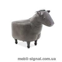 Детский пуфик Лошадка Konrad серый (Signal)