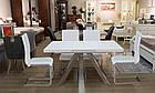 Раздвижной стол Кемел Т-910 140/180, белый мат, фото 3