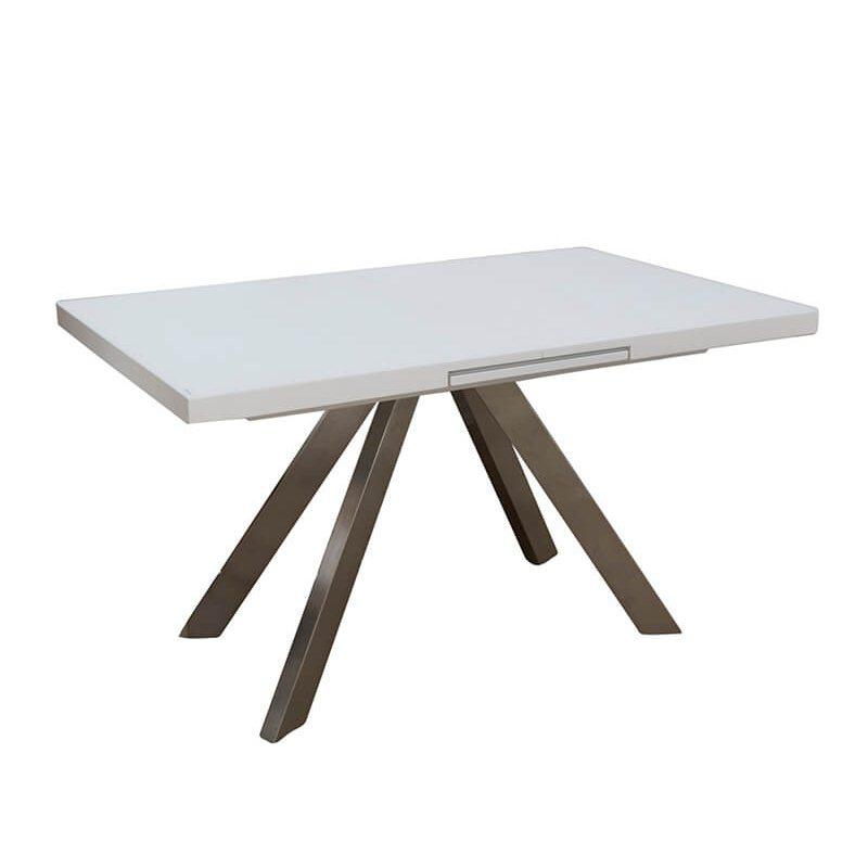 Раздвижной стол Кемел Т-910 140/180, белый мат