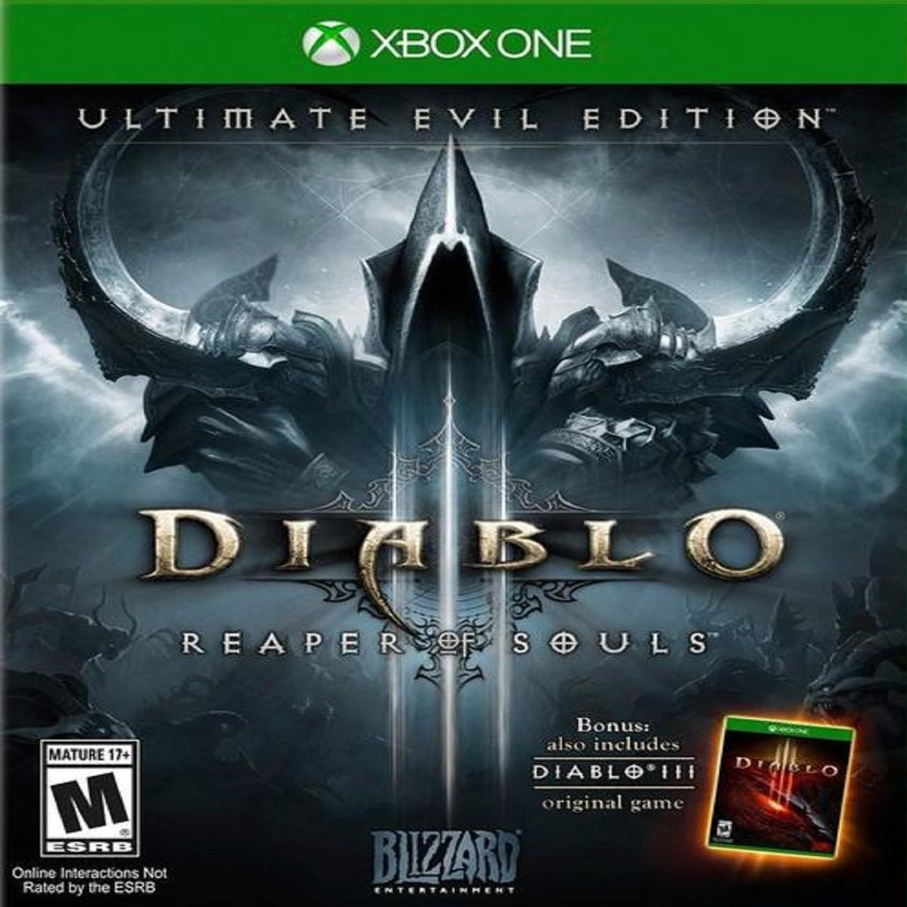Diablo III : Reaper of Souls ENG XBOX ONE (Б/В)