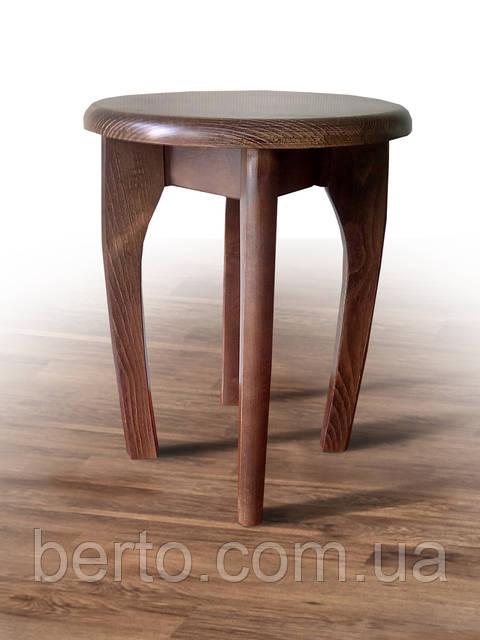 Татурет деревянный круглый 340мм