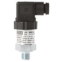 Реле тиску PSM02 0,5...8 бар G1/4B, тип контакту SPDT, сталь з гальванічним покриттям, DIN EN 175301-803