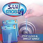 Палочки для очистки водопровода Sani Sticks Палички для очищення водопроводу, фото 4