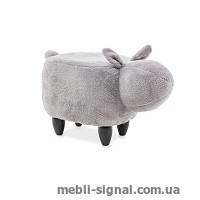 Детский пуфик Кролик Kamil серый (Signal)