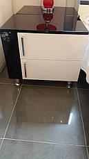 Спальня Флавер (Черный / Белый) (1,80 м.) (раскомплектовуется), фото 2