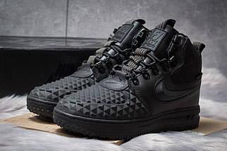 Зимние ботинки Nike LF1 Duckboot черные, 126-1 женские на меху, фото 3