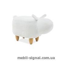 Детский пуфик Кролик Kamil белый (Signal)