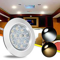 DC12V 3W 12 LED Светильник для шкафа Spot Cabinet Лампа Для Transporter Van Лодка Авто RV 1TopShop