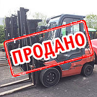 Газовый вилочный погрузчик 3,5 тонны Toyota 7FGF35  бу, фото 1
