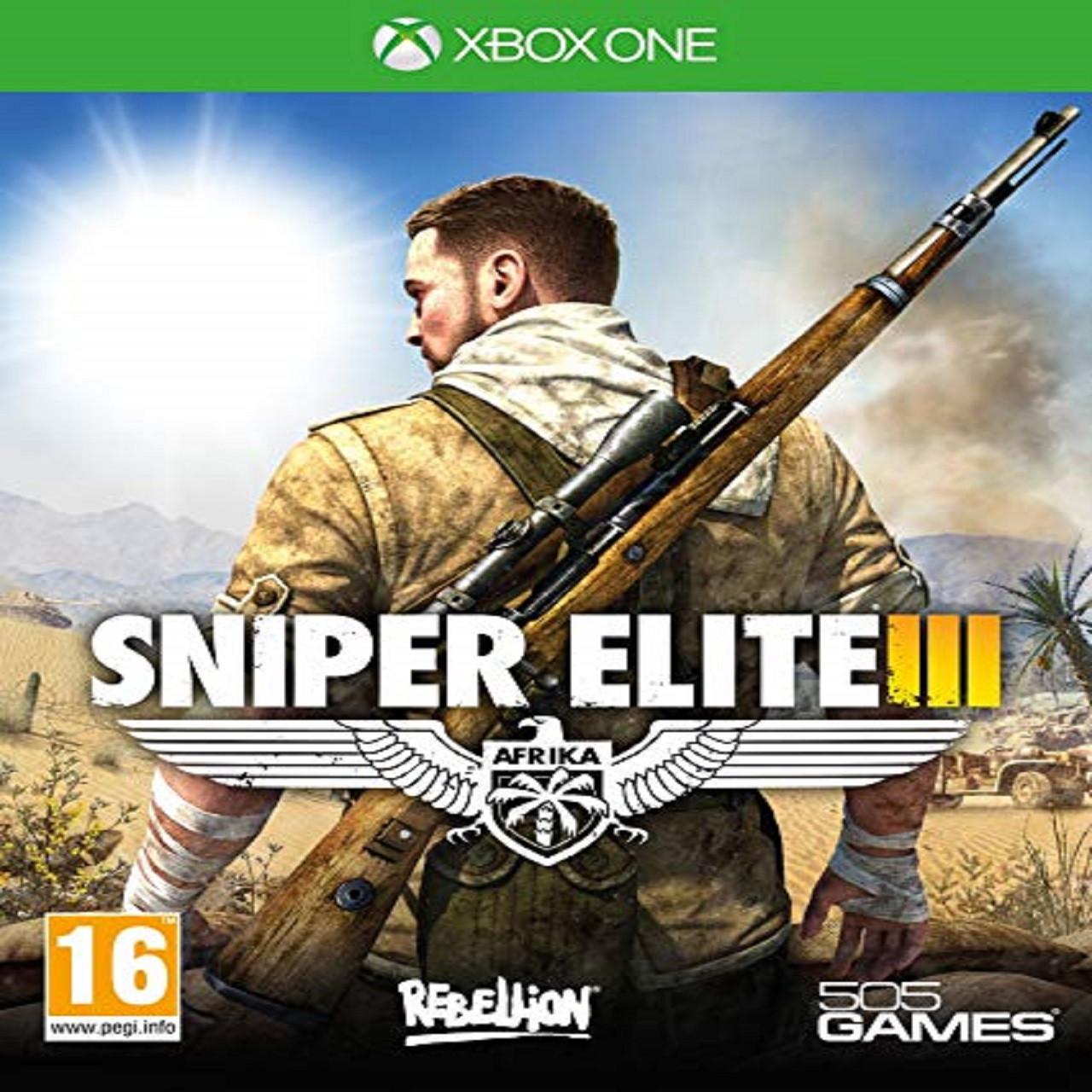 Sniper Elite 3 (російська версія) XBOX ONE (Б/В)