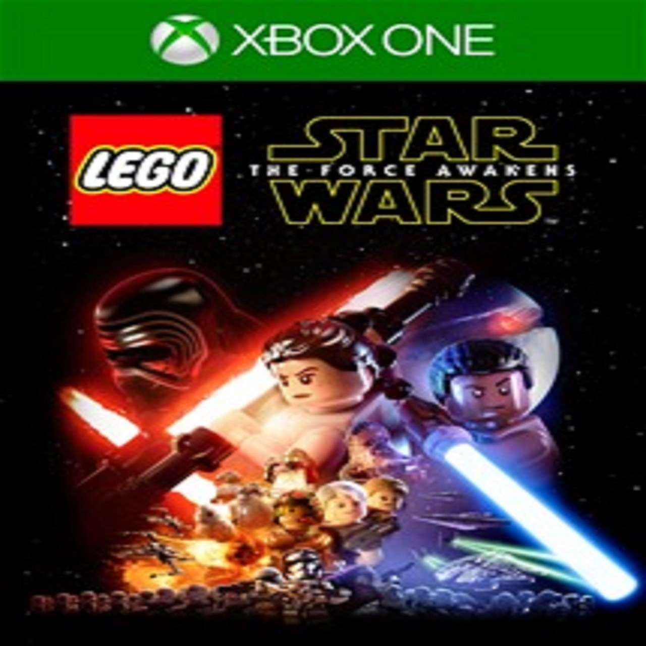 Lego Star Wars The Force Awakens (російські субтитри) XBOX ONE