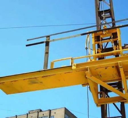 Высота подъёма Н-93 метров Мачтовый-мачтовые подъёмник-подъёмники для строительства грузовой  ПМГ г/п 500 кг ., фото 2