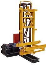 Высота подъёма Н-93 метров Мачтовый-мачтовые подъёмник-подъёмники для строительства грузовой  ПМГ г/п 500 кг ., фото 3