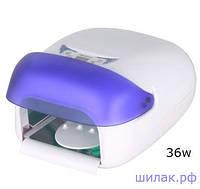 УФ Лампа 36 Ватт с защитой от УФ излучения,сенсорным управлением,эл.таймером,вентилятором