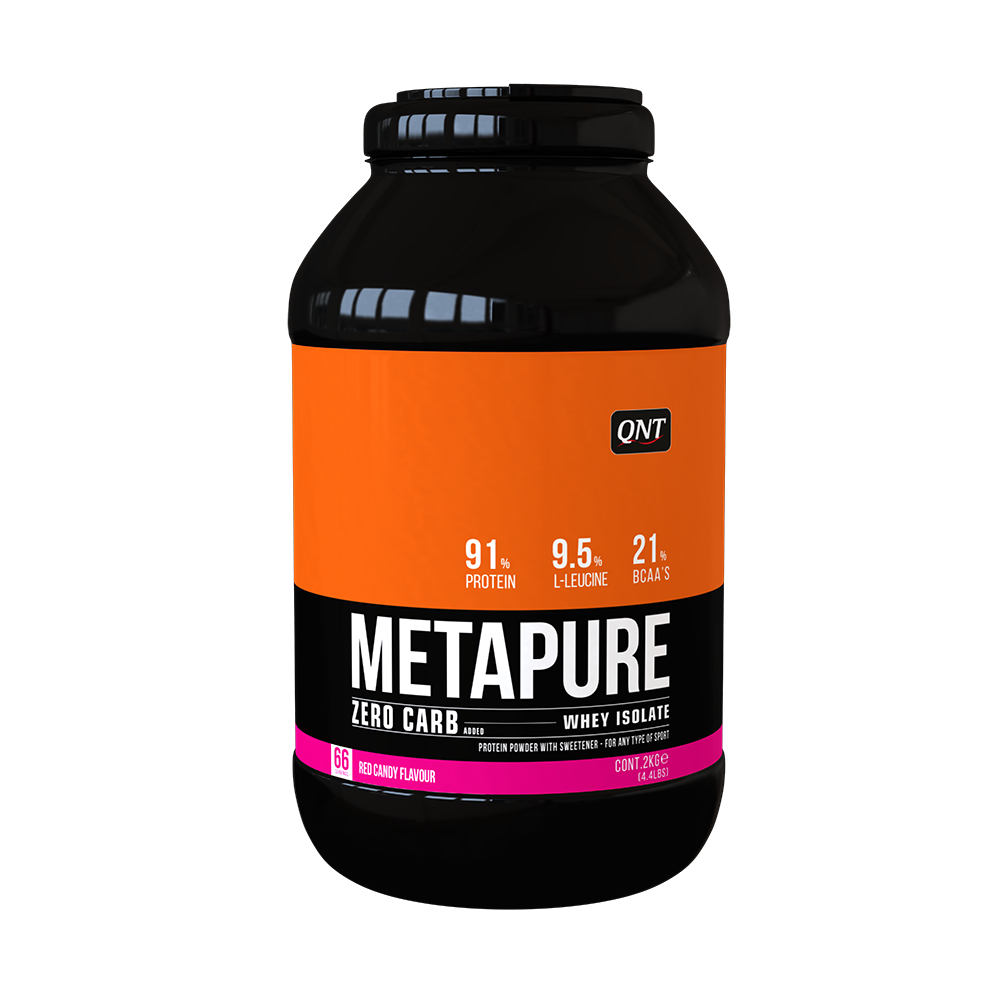 QNT_Metapure ZC Isolate 480 г - Candy Red