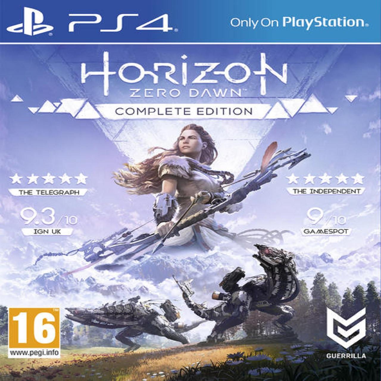 Horizon Zero Dawn Complete Edition (російська версія) PS4