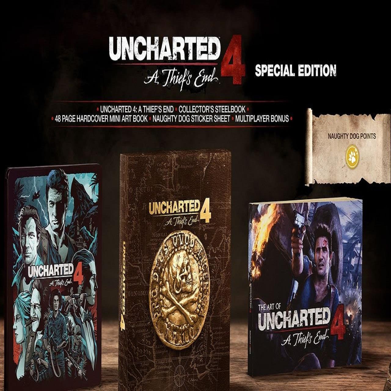Uncharted 4: A Thief's End Special Edition (російська версія) PS4 (Б/В)